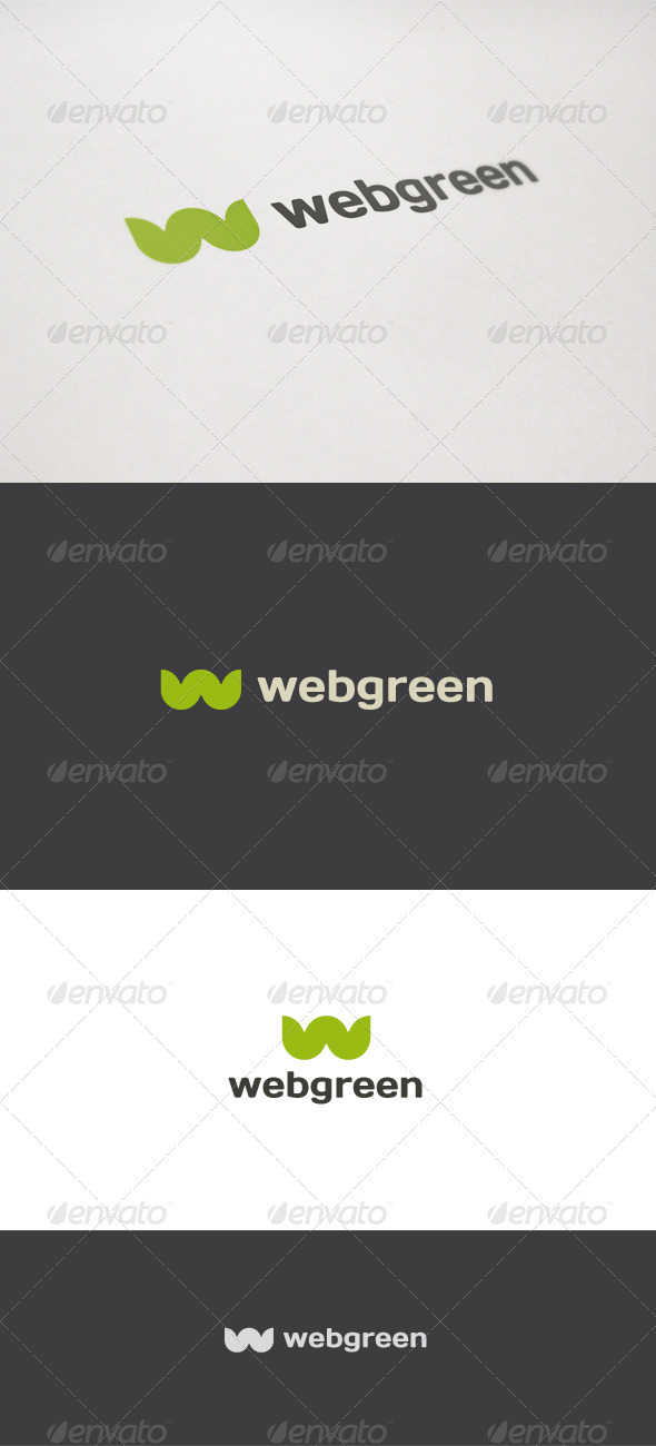 Web Green - Nature Logo Templates