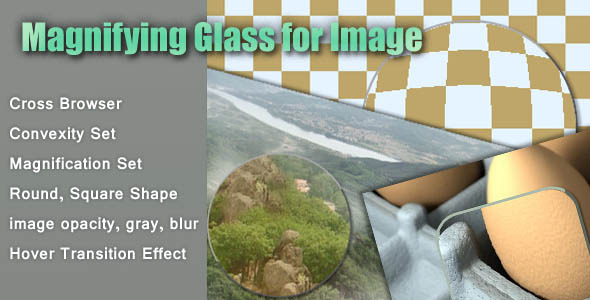 Magnifying Glass for Image - CodeCanyon Item for Sale