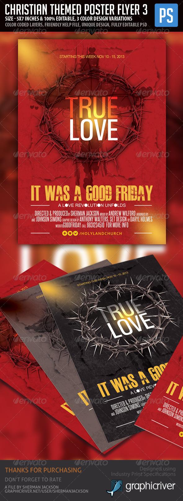 Church/Christian Themed Poster/Flyer Vol.2 - Church Flyers