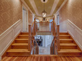 Double wooden staircases in luxury house - PhotoDune Item for Sale