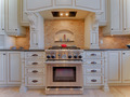 Gas stove in luxury kitchen - PhotoDune Item for Sale