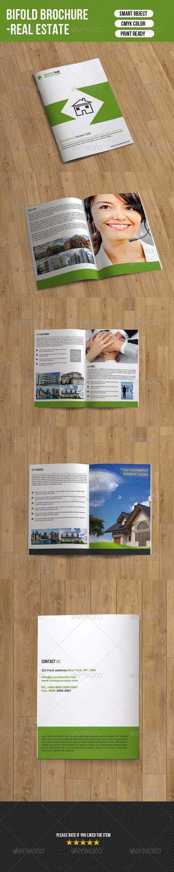 Bifold Real Estate Brochure - Corporate Brochures