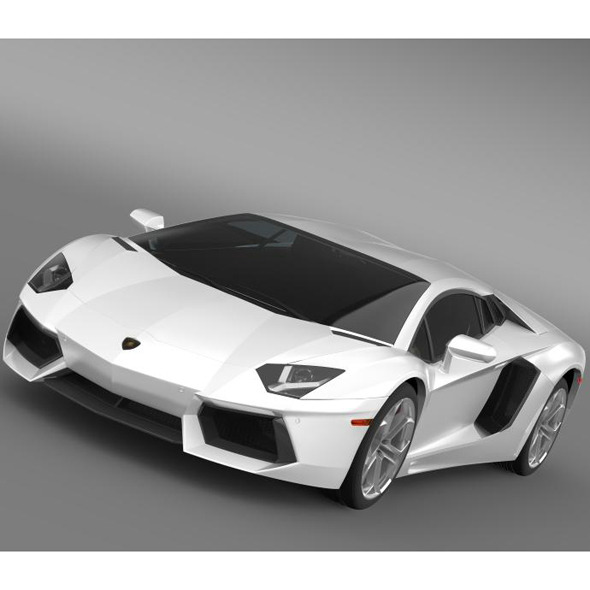 Lamborghini Aventador LP 700 4 US spec - 3DOcean Item for Sale
