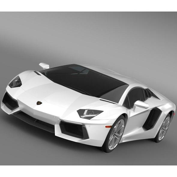 Lamborghini Aventador LP 700 4 US spec - 3DOcean Item for Sale