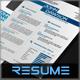 4-Piece Power Resume - GraphicRiver Item for Sale
