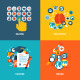 Flat Design Concept Icons for Online Education - GraphicRiver Item for Sale