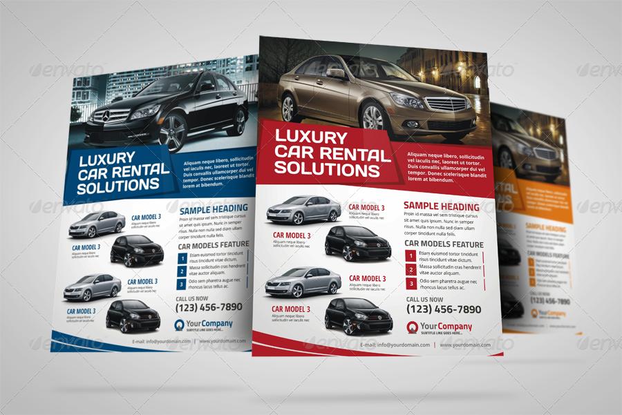 Automotive Car Sale Rental Flyer Ad v3 by JbnComilla – Car Sale Flyer