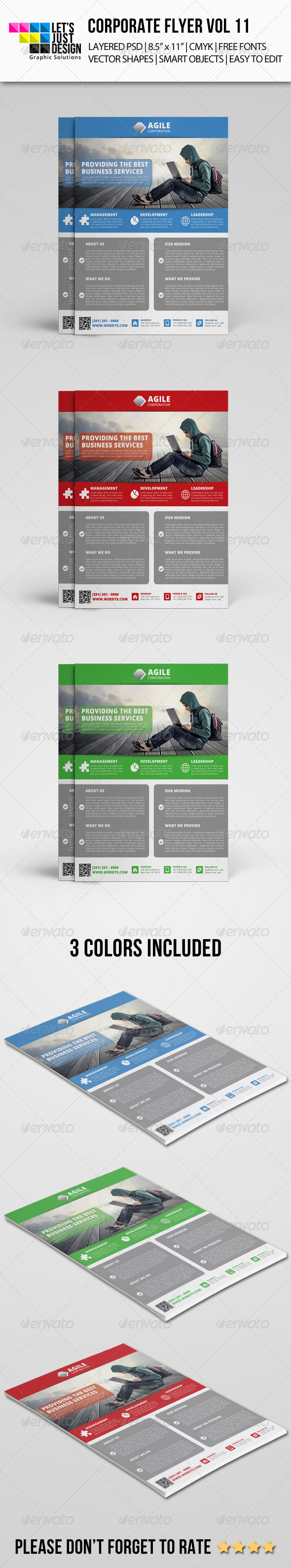 Corporate Flyer Template Vol 11 - Corporate Flyers