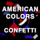 American Colors Confetti - VideoHive Item for Sale