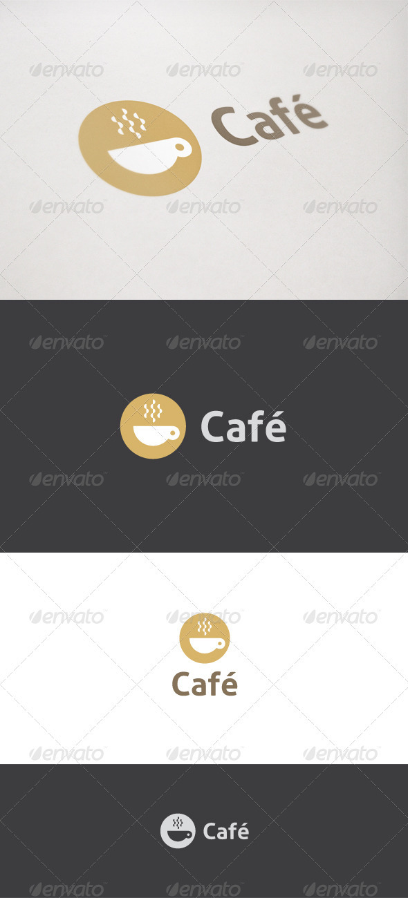 Café - Coffee Logo - Food Logo Templates