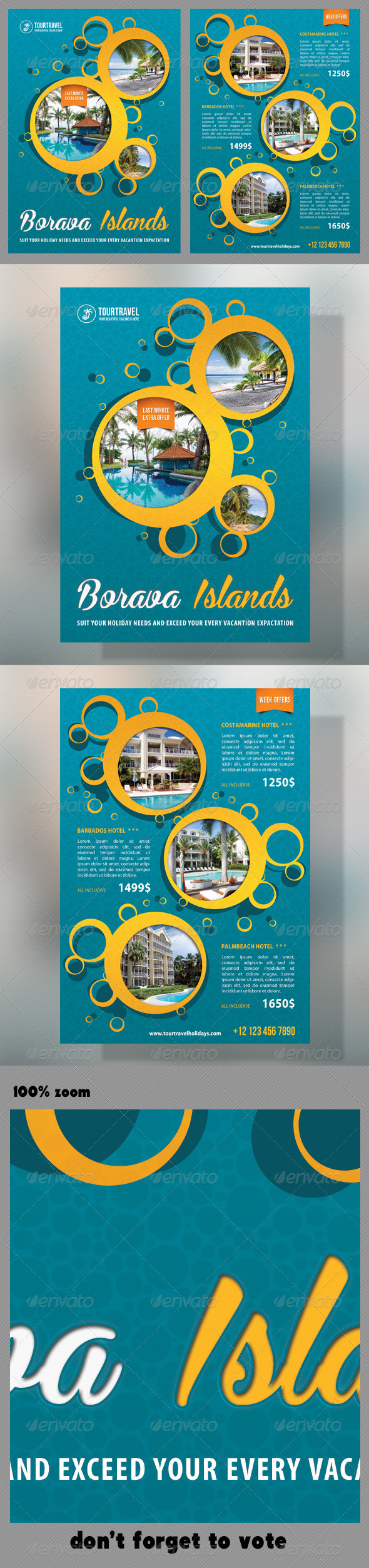 Travel Agency Corporate Flyer 10 - Holidays Events