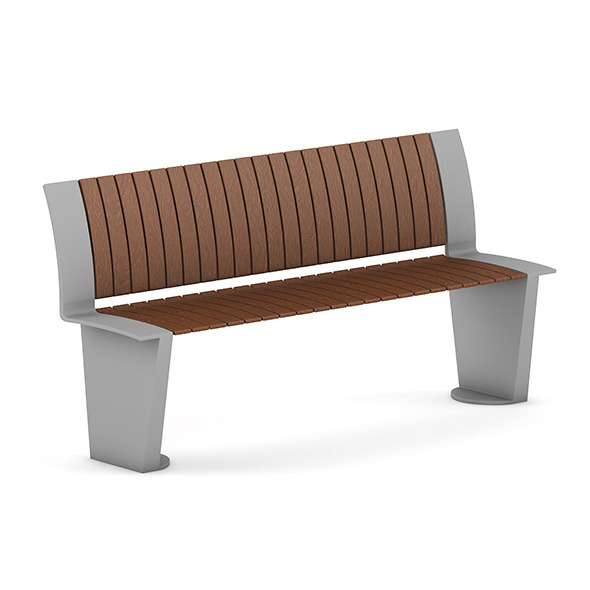Wooden Bench 3 - 3DOcean Item for Sale