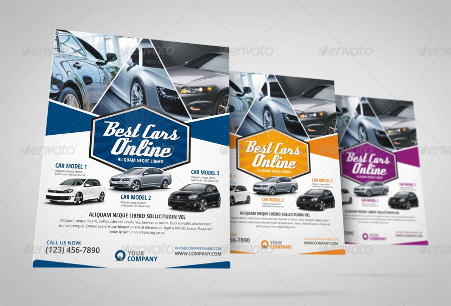 Automotive Car Sale Rental Flyer Ad by JbnComilla – Car Sale Flyer