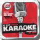 Karaoke Flyer Template - GraphicRiver Item for Sale