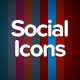 Animated Social Media Icons - 10 Pack - CodeCanyon Item for Sale