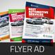 Automotive Car Sale Rental Flyer Ad Template Vol.4 - GraphicRiver Item for Sale