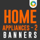 Electronics & Home Appliances E-Commerce Banners - GraphicRiver Item for Sale