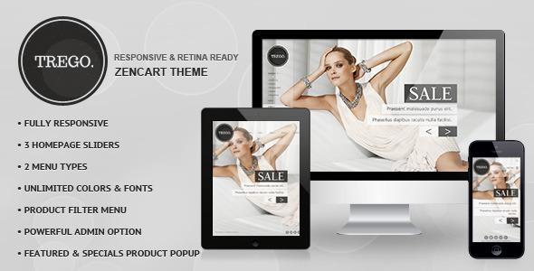 Trego – Premium Responsive Zencart Theme