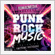 Punk Rock Music CD Cover - GraphicRiver Item for Sale