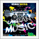 Urban Music CD Cover - GraphicRiver Item for Sale