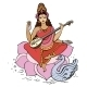 Hindu Goddess Saraswati - GraphicRiver Item for Sale