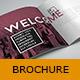 Retro Style Square Brochure Indesign - GraphicRiver Item for Sale