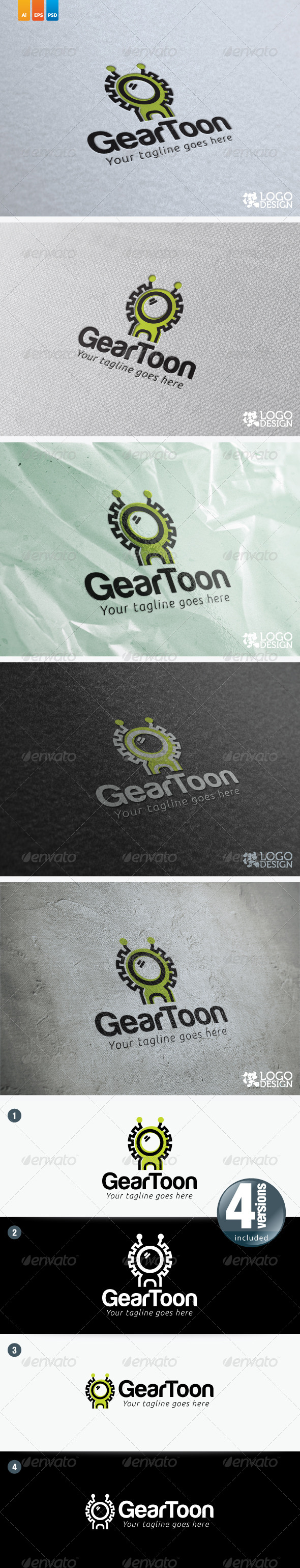 GearToon - Objects Logo Templates