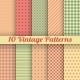 Vintage Different Seamless Patterns - GraphicRiver Item for Sale