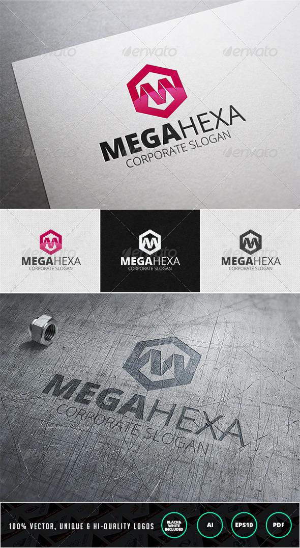 Mega Hexa Logo Template - Letters Logo Templates