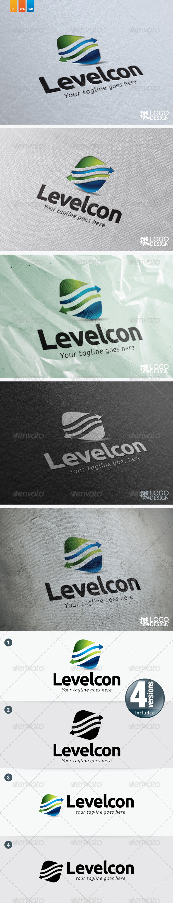 LevelCon - 3d Abstract