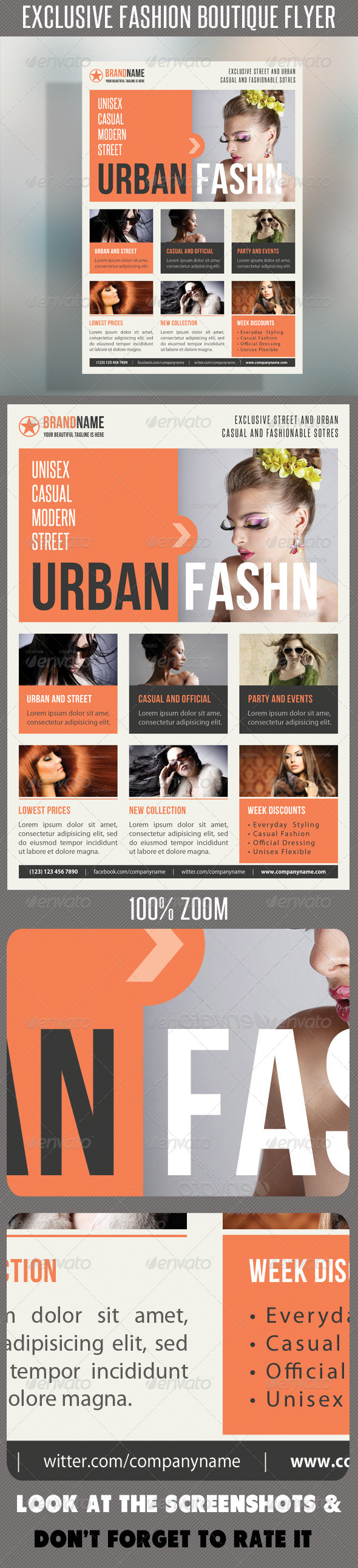 Fashion Product Flyer 47 - Flyers Print Templates
