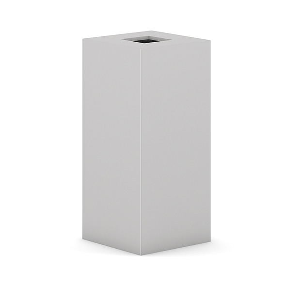 Square Recycle Bin 3 - 3DOcean Item for Sale