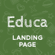 Educa - Education Landing Page Template