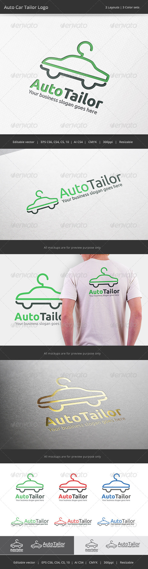 Auto Car Tailor Logo