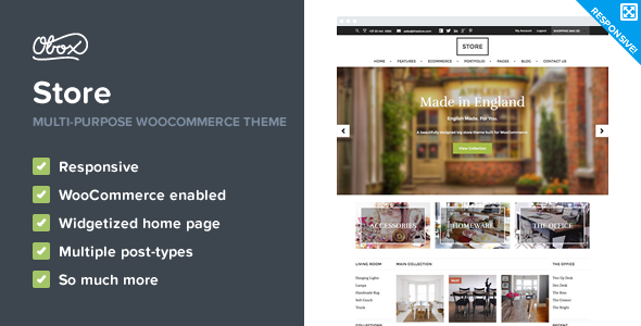 Store - eCommerce WordPress Theme