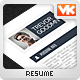 ALL-IN-ONE - 1 Piece Clean Flat Resume - GraphicRiver Item for Sale