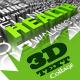 Text Collage 3D Part_1 123 - 3DOcean Item for Sale
