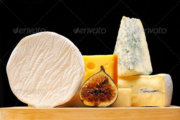 Various types of cheese - Stock Photo - Images