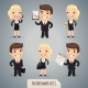 Businessmen Cartoon Characters Set - GraphicRiver Item for Sale