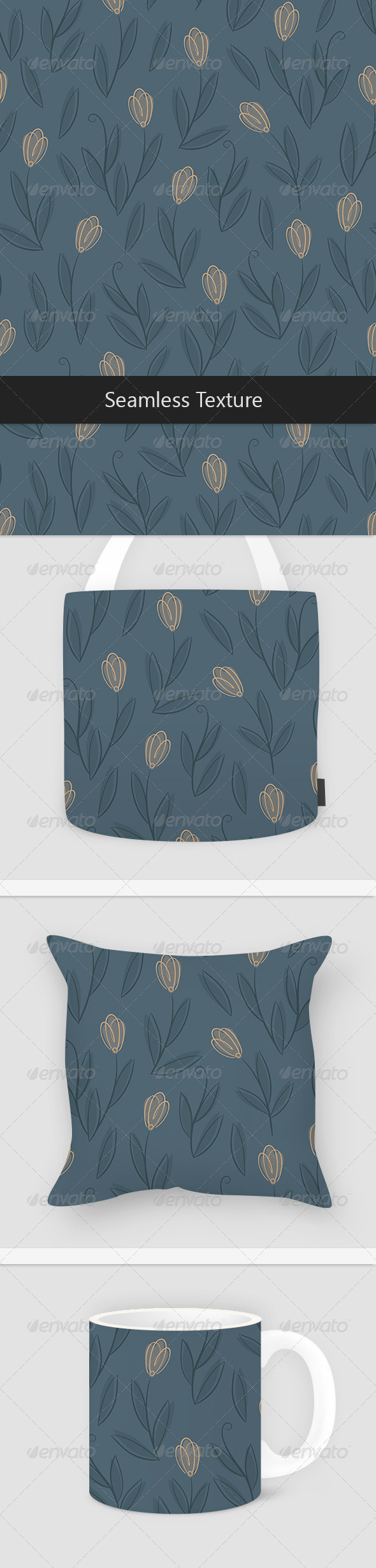 Blur Floral Pattern - Patterns Decorative