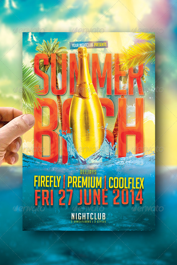 Summer bash flyers ibovnathandedecker summer bash flyers maxwellsz