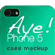 Aye! Phone 5 Case Mockup - GraphicRiver Item for Sale