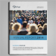 Clean Annual Report Vol.1 - GraphicRiver Item for Sale
