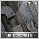 12 Concrete Styles Vol.4 - GraphicRiver Item for Sale