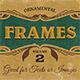 Ornamental Frames Vol.2 - GraphicRiver Item for Sale
