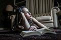 reading girl - PhotoDune Item for Sale