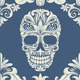 Skull Swirl Decorative Pattern - GraphicRiver Item for Sale