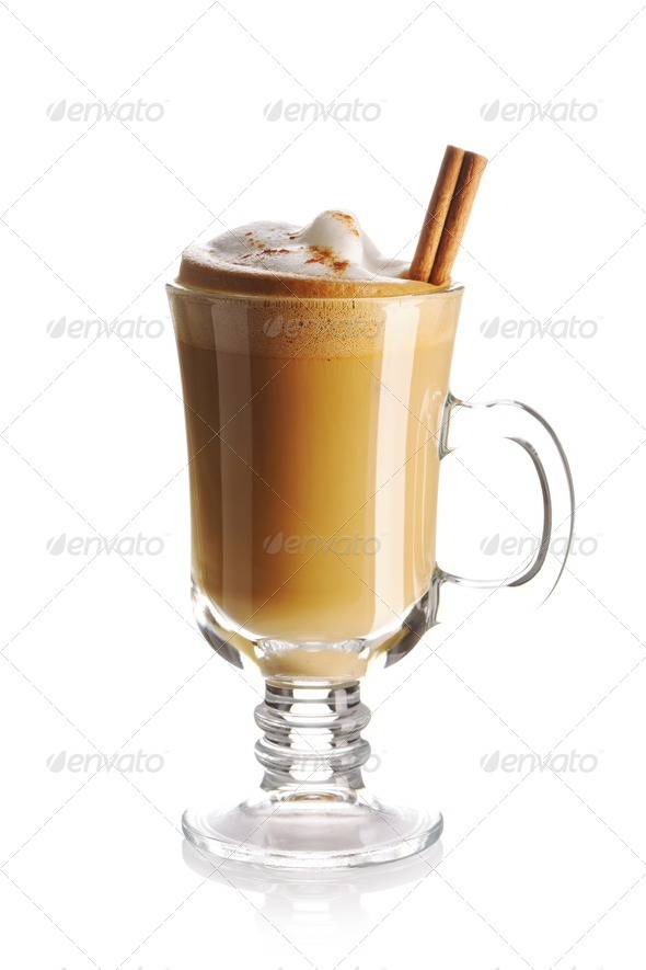 Latte coffee - Stock Photo - Images