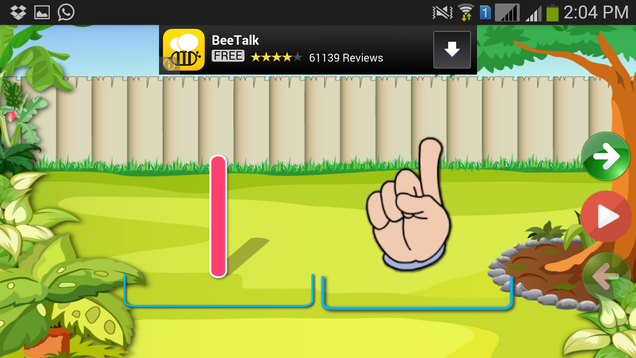 Kids Chalk Up - Educational Android App For Kids