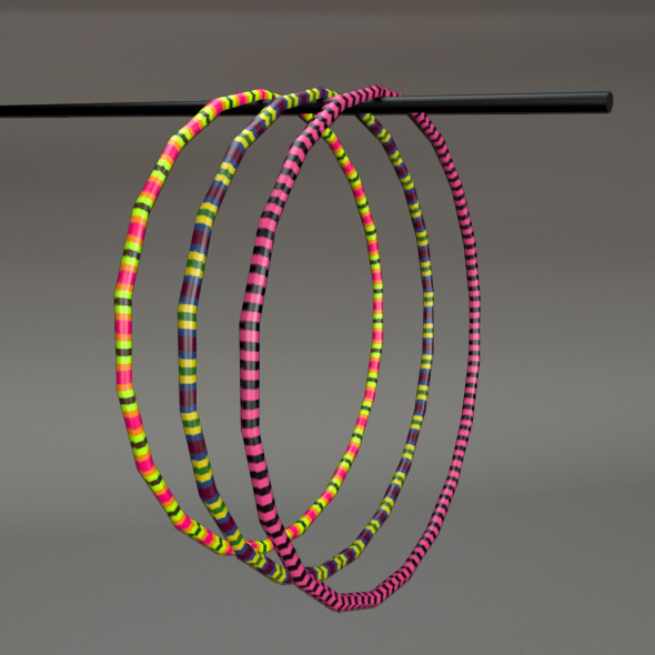 Hula Hoop - 3DOcean Item for Sale